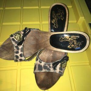 Guess wooden Sandals